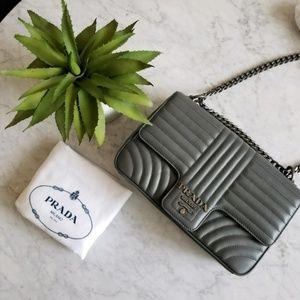 💯 Prada Quilted Crossbody Bag